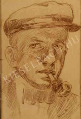 Poll, Hugó - Self-Portrait