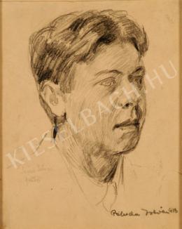 Prihoda István - Szűcs István festő portréja