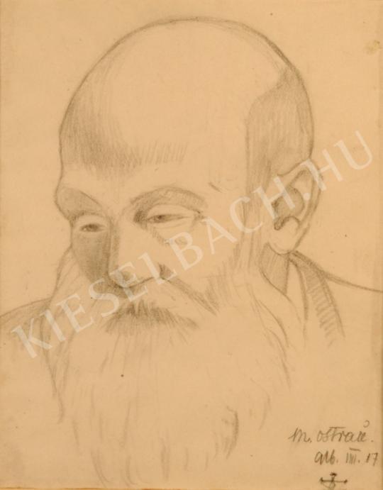 Remsey Jenő György - Művészportré festménye