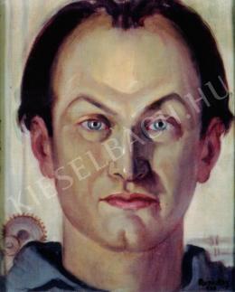 Ruzicskay György - Önarckép