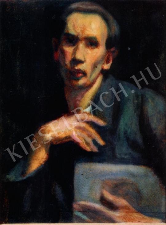 Schönberger, Armand - Self-Portrait painting