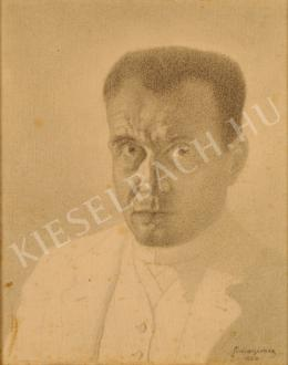 Simai Imre - Önarckép