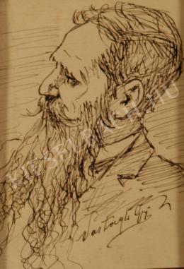 Vastagh György - Önarckép