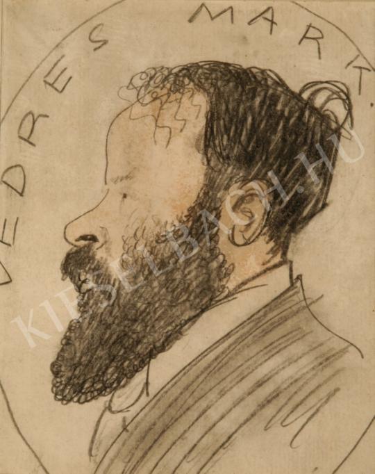 Ismeretlen festő - Vedres Márk festménye