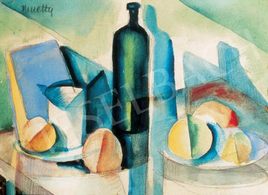 Kmetty, János - Still Life with Green Glass | 26th Auction auction / 2 Lot