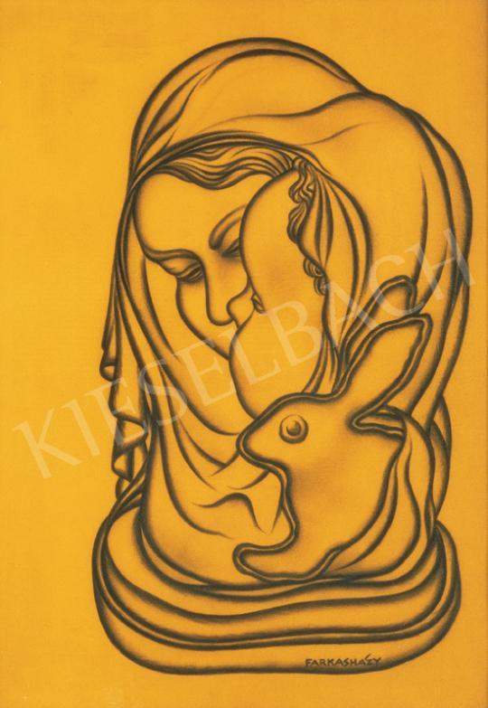 Farkasházy Miklós - Anya gyermekével   26. Aukció aukció / 13 tétel