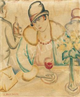 Klein József - Párizsi kávéházban