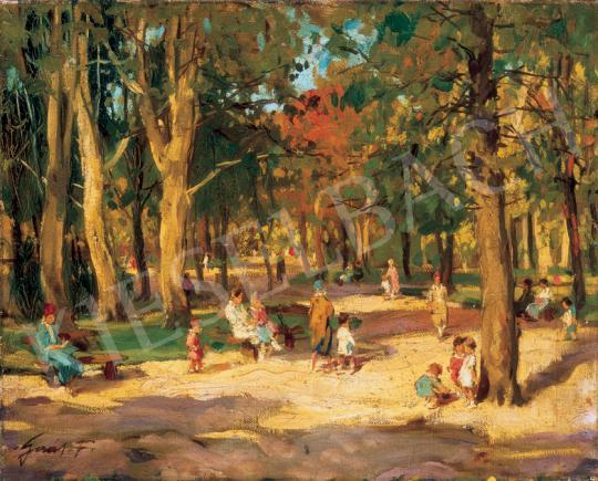 Gaál Ferenc - Parkban   26. Aukció aukció / 15 tétel