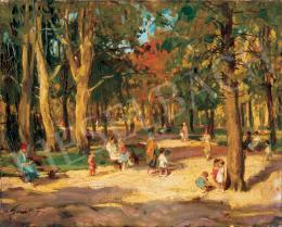 Gaál Ferenc - Parkban