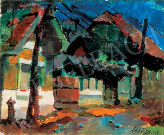 Nagy, Oszkár - Street in Nagybánya | 26th Auction auction / 25 Lot