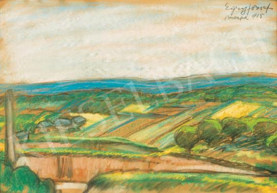 Egry József - Tavasz (Budafok) | 26. Aukció aukció / 28 tétel