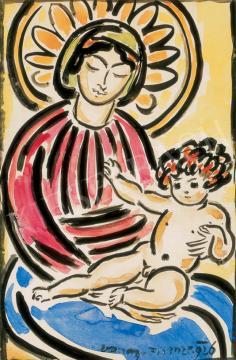 Vaszary János - Firenzei Madonna | 26. Aukció aukció / 29 tétel