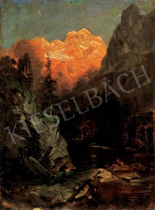 Brodszky Sándor - Hegyi patak a Tátrában | 26. Aukció aukció / 33 tétel