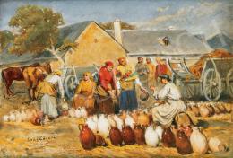 Deák-Ébner Lajos - Szolnoki  vásár