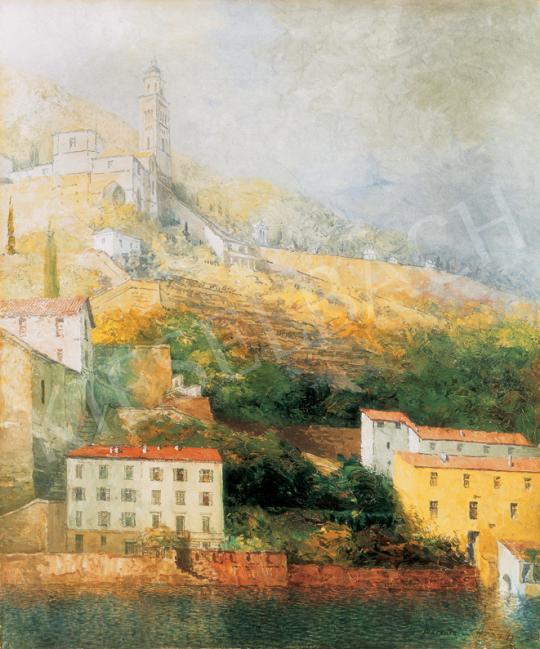 Háry Gyula - Morcote a Lugano-i tó partján | 26. Aukció aukció / 42 tétel
