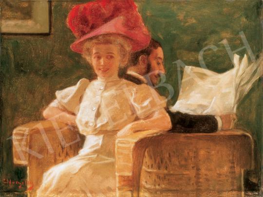 Margitay Tihamér - Szalonban | 26. Aukció aukció / 45 tétel