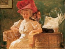 Margitay Tihamér - Szalonban