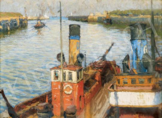 Poll Hugó - Hajók | 26. Aukció aukció / 52 tétel