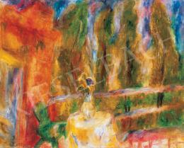 Frank Frigyes - Délutáni a fények teraszon