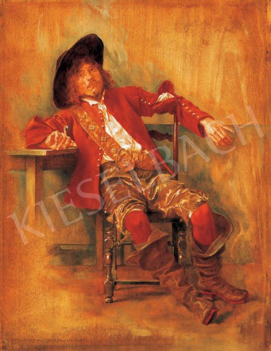 Karlovszky Bertalan - Muskétás | 26. Aukció aukció / 71 tétel
