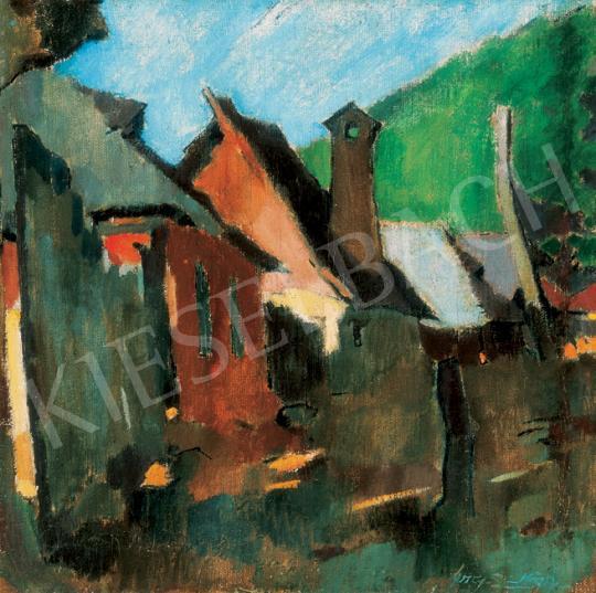 Nagy, Oszkár - Houses in Nagybánya   26th Auction auction / 74 Lot