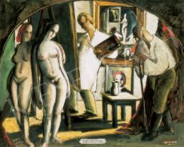 Szabó Gyula - Figurák, akiket vonalba, színbe csodálkoztam, 1936