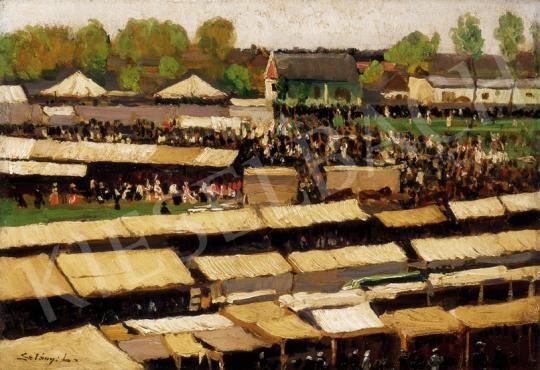 Szlányi Lajos - Szolnoki nagyvásár (Országos vásár Szolnokon) | 23. Aukció aukció / 5 tétel