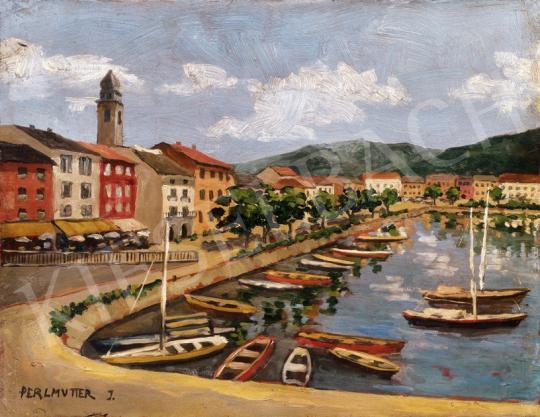 Perlmutter Izsák - Kikötő Toszkánában | 23. Aukció aukció / 6 tétel