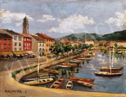 Perlmutter Izsák - Kikötő Toszkánában