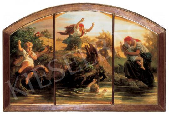 Székely, Bertalan - Motherly Guard, 1863 - 1866   26th Auction auction / 153 Lot
