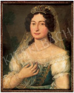 Donát János - Női arckép