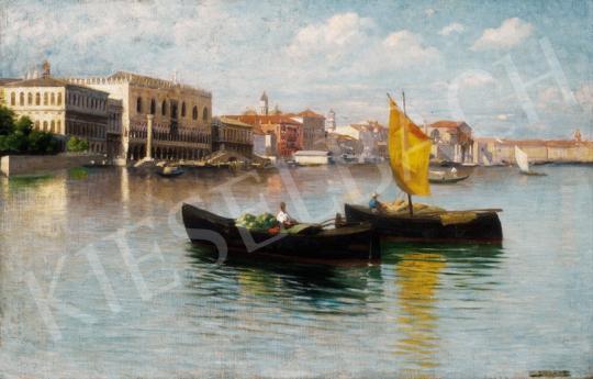 Bihari Sándor - Napfényes Velence | 23. Aukció aukció / 11 tétel