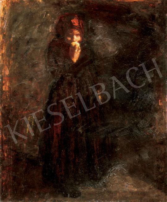 Fényes Adolf - Almát evő kislány | 26. Aukció aukció / 170 tétel