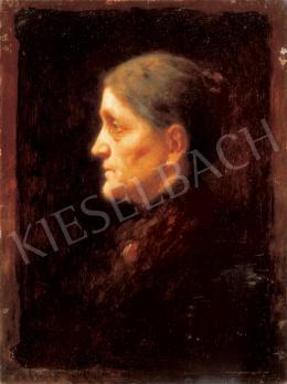 Mészöly Géza - A művész édesanyja
