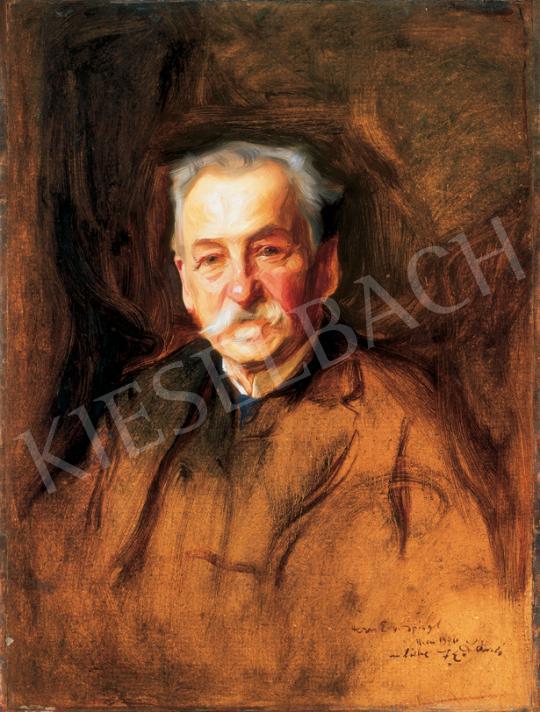 László Fülöp - Bécsi úr portréja | 26. Aukció aukció / 211 tétel