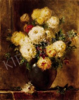Dolányi Benczúr, Ida - Still-Life of Flowers