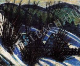 Nagy István - Dombok kék árnyékokkal, 1920-as évek második fele