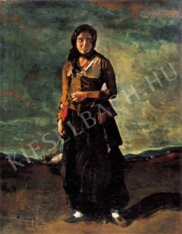 Rudnay Gyula - Cigánylány, 1918