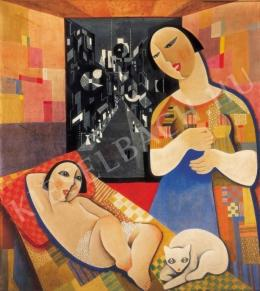 Kádár, Béla - Mother with Her Child, 1927