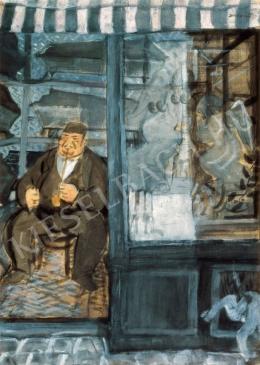 Derkovits Gyula - A gazdag koporsókereskedő, 1928