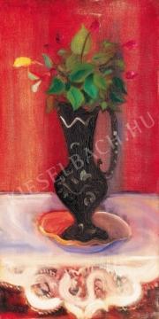Márffy Ödön - Virágcsendélet, 1928 körül festménye