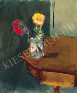 Bernáth, Aurél - Still-Life with Flowers, 1945