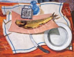 Derkovits Gyula - Halas csendélet III., 1930