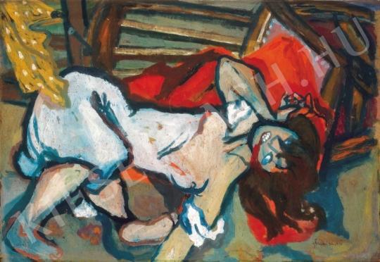 Anna Margit - Gyilkosság, 1936 festménye