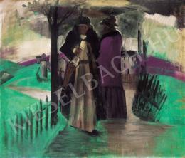 Farkas István - Vihar után (Sétány), 1934