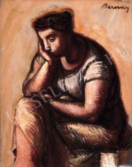 Barcsay, Jenő - Thinker, 1957