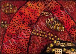 Román György - Vörös légypapír, 1946