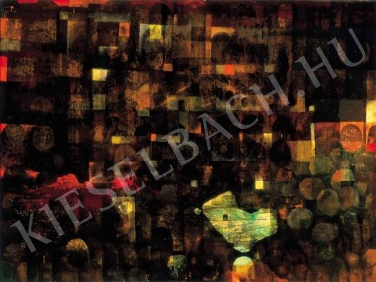 Gyarmathy, Tihamér - Ancient Objects and Buildings, 1964 painting