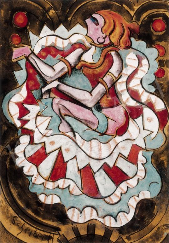 Scheiber Hugó - Táncosnő | 23. Aukció aukció / 27 tétel