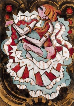 Scheiber Hugó - Táncosnő